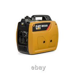 2250W Caterpillar INV2000 Portable Inverter Petrol Generator