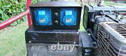 4KVA Briggs and Stratton 8HP Petrol generator 240V and 110V