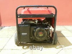 6500w 6000w Petrol Generator Electric Start 115 volt 240 volt Long Run Fuel Tank