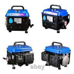 700W Portable silent gasoline generator Camping Inverter Generator Set 220V