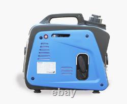 800W Portable Silent Camping Gasoline Power Inverter Generator Set 220V