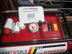 8.5 petrol generator new