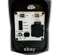 Autojack Portable Suitcase Inverter Quiet Petrol Generator 4 Stroke 800W 240V
