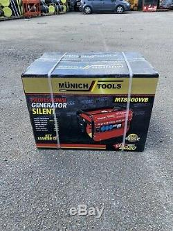 Brand New Professional Generator Silent MT8500WB Petrol