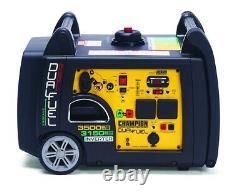 Champion 73001i-DF 3400W Dual Fuel LPG Petrol Inverter Generator Electric Start