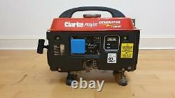 Clarke 1100W Portable Generator Model No G1200 Used only once