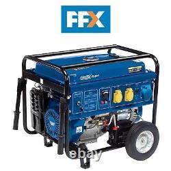 Draper 16143 Petrol Generator with Wheels (6.5kVA/11kW)