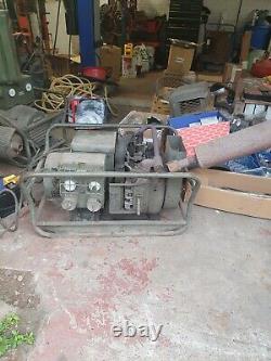Ex Army Generators pair