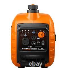 GENERAC GP3000I Portable Generator 2300 Watt Compact Portable Inverter Generator