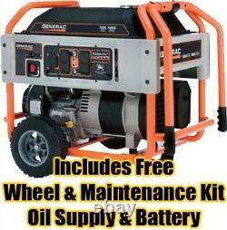 Gas Portable Generator 10,000 Watts 9 Gal 410cc OHVI Engine Electric Start