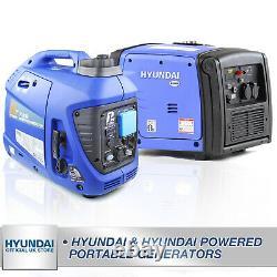 Generator Petrol Inverter Portable Suitcase Silent from 1kw upto 4kw HYUNDAI P1