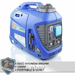 Generator Petrol Inverter Suitcase 1000w 1kw 1.2kVa Leisure Portable Silent