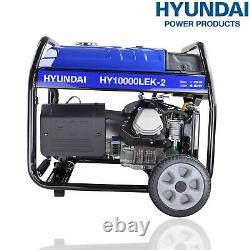 Generator Petrol Portable Electric Start 16hp 8000w 8kw 10kVa 4 Stroke Hyundai