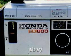HONDA GENERATOR EX800 Ships From California