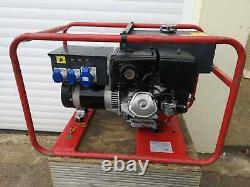Harrington 6.3 kVA Generator, Honda Petrol Engine, 110/240 Volt, GWO