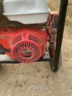 Harrington 7 Kva 110 Volt Site Safe Generator Honda Gx390 Engine Fusion Welder