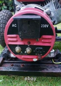 Honda Clone Petrol generator 240V and 12v
