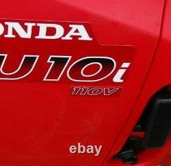 Honda EU10i 110Volt 1kW Petrol Driven Inverter Generator portable 2019