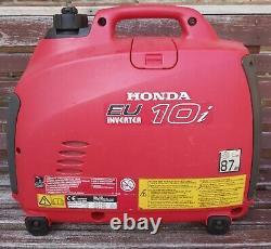 Honda EU1.0i Generator. DEPOSIT TAKEN