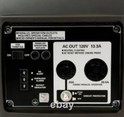Honda EU2000i Companion 2000 Watt Portable Inverter Generator Lightweight Quiet