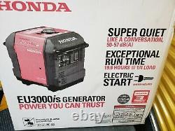 Honda EU3000is Inverter Generator Portable Gas Powered