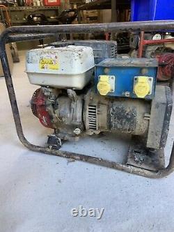 Honda Gx 270 Petrol Generator 5.0 KVA 110 Volt