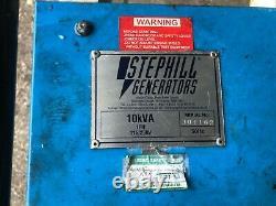 Honda stephill Electric Start Portable Generators 10kva