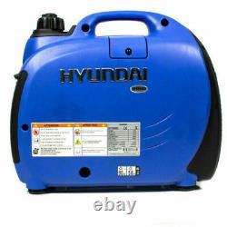 Hyundai 1.2KVA 1kw 1 Generator Inverter Silent Portable Suitcase Petrol HY1000SI