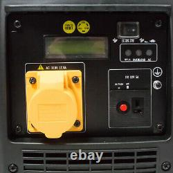 Hyundai 2000w Portable Petrol Inverter Generator HY2000Si-115 GRADED