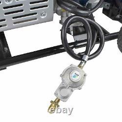 Hyundai HY10000LE-LPG 7.0kWith8.75kVA Recoil&Electric Start Generator GRADED