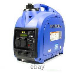 Hyundai HY2000Si 2000w Portable Petrol Inverter Generator 2kw GRADED