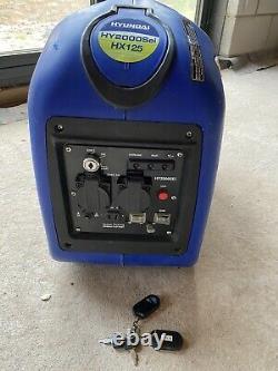 Hyundai HY2000Si HX125 -Stroke Inverter Generator 2kw