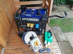 Hyundai HY9000PE 6.5kW Electric Start Petrol Generator