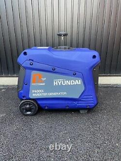 Hyundai Inverter Generator P4000i Petrol Remote Start
