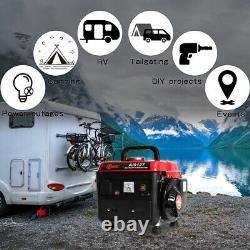 Inverter Petrol Generator 1.1KVA 2HP Gasoline Quiet Suitcase 4L Tank Pull Start