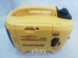 KIPOR Sinemaster IG2000 Digital Generator Petrol for Spares or Repair Only