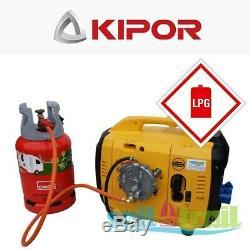 Kipor IG 1000 LPG Suitcase Inverter Generator