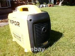Kipor KGE3000Ti generator 2.3k v/a rated output good condition little used