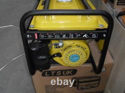LPG AND PETROL GENERATOR 2.5KW DUAL FUEL new 240 volt 2 year warranty new