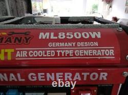 Ml 8500w Petrol Generator