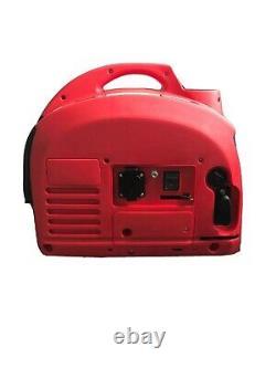 Mobile Portable Generator 2000W Petrol Suitcase Inverter Camping