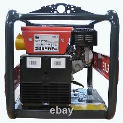 NEW BELLE GPX2700 GENERATOR 2.7kVA HONDA GX200 PETROL ENGINE 110v 230v SITE