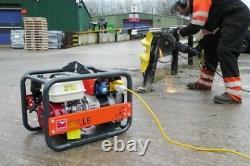 NEW BELLE GPX3400 GENERATOR 3.4kVA/2.7kw HONDA GX200 PETROL ENGINE 110v 230v