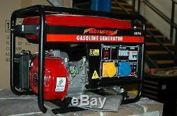 Neilsen 2.8KVA 4 Stroke petrol Generator NEW with Fly lead CT1900
