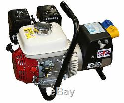 New Stephill Lightweight Easylift Honda 2.7kva 2.2kw Petrol Generator Essex