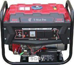 Petrol Generator 8HP Petrol 2.8KVA 4 Stroke Low Noise ELECTRIC KEYS START