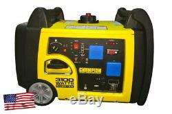 Petrol Generator Champion CPG73001i-P 3.1kVA with Electric Start