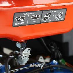 Petrol Generator Electric Start Portable Site Power 7.9kW 7900W 9.8kVA 230/115V