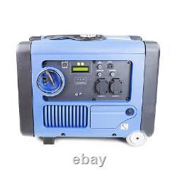 Petrol Generator Inverter 4.0kW 5kVA 4000w Portable Suitcase Silenced 230V