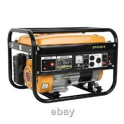 Petrol Generator Portable 4000W RocwooD 230v 4 Stroke 8HP Electri Start FREE Oil